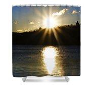 Splitrock Sunrise Shower Curtain