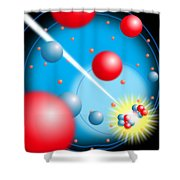 Splitting The Atom Shower Curtain