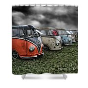 Splitty Rotters 2 Shower Curtain