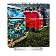 Splitty Rotters Shower Curtain
