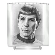 Spock - Fascinating Shower Curtain