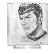 Spock Shower Curtain