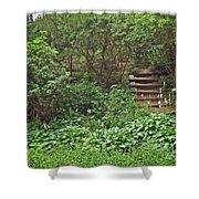 Spohr Gardens - Quissett - Falmouth - Ma - Cape Cod Shower Curtain