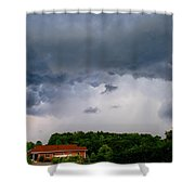 Spoiling For A Storm Shower Curtain
