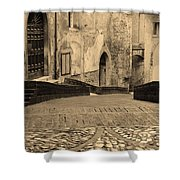 Spoleto Street 3 In Umbria Italy Shower Curtain