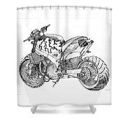 Spong Shower Curtain