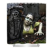 Spookie Lady Shower Curtain