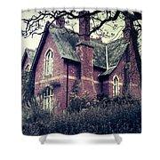Spooky House Shower Curtain