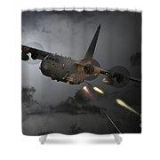 'spooky' Shower Curtain