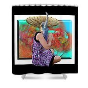 Spore Shower Curtain