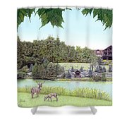 Sporting Clays At Seven Springs Mountain Resort Shower Curtain