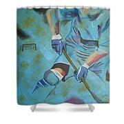 Sports Hockey-2 Shower Curtain