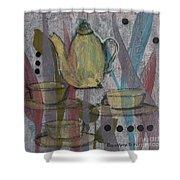 Spot Of Tea Shower Curtain