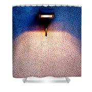 Spot Of Warming Light Shower Curtain
