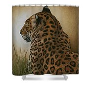 Spotted Elegance Shower Curtain