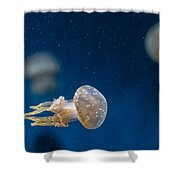 Spotted Jelly Aliens 2 Shower Curtain