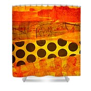 Spotted Sunset Shower Curtain