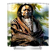Spotted Tail Shower Curtain