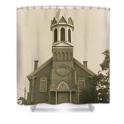 Sprague Church 2 Shower Curtain