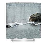 Sprague In Lake Rocky Mountain National Park Shower Curtain