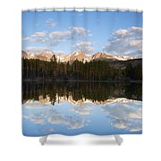 Sprague Lake 2 Shower Curtain