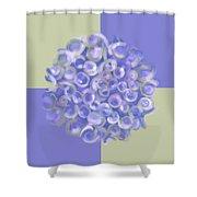 Spreeze Lilac Shower Curtain
