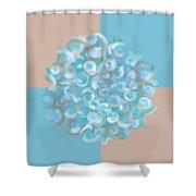 Spreeze Sea Stone Shower Curtain