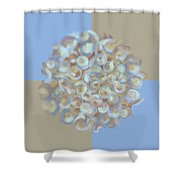 Spreeze Sky Shower Curtain