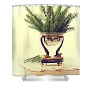 Sprigs Of Pine Shower Curtain