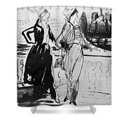 Sprinchorn Women, 1914 Shower Curtain