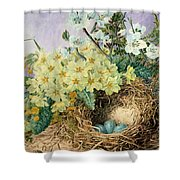 Spring, 1879 Shower Curtain