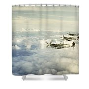 Spring 1943 Shower Curtain