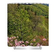 Spring Along The Blue Ridge Shower Curtain