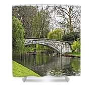 Spring And The River Cam Shower Curtain
