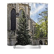 Spring At Chartres Shower Curtain