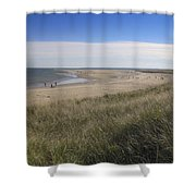 Spring At Crane Beach Shower Curtain