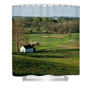 Spring At Maurice Stevens Spring House Shower Curtain