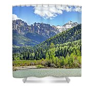 Spring At Silver Jack Shower Curtain