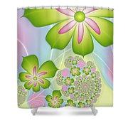 Spring Awakening Shower Curtain