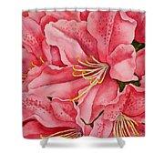 Spring Azalea Shower Curtain