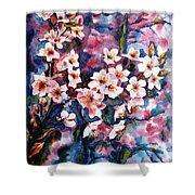 Spring Beauty Shower Curtain by Zaira Dzhaubaeva