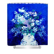 Spring Bunch Shower Curtain
