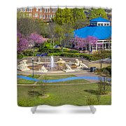 Spring Coolidge Park 2 Shower Curtain