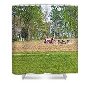 Spring Discing Shower Curtain