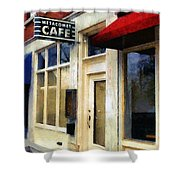 Spring Evening In Amherst Shower Curtain