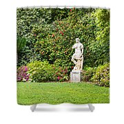 Spring Flower Blooms At The North Vista Lawn Of The Huntington Library. Shower Curtain