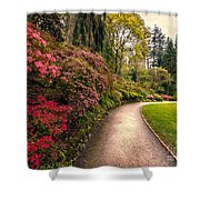 Spring Footpath Shower Curtain