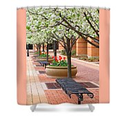 Spring Fragrance Shower Curtain