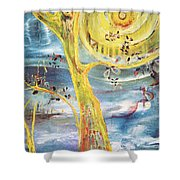 Spring Glory Shower Curtain