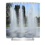 Spring H20 Sprays Shower Curtain